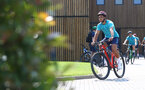 SOUTHAMPTON, ENGLAND - JULY 21: Che Adams during a pre season day of cycling around The New forest, July 21, 2021 in Southampton, England. (Photo by Matt Watson/Southampton FC via Getty Images)