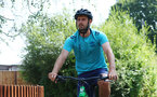 SOUTHAMPTON, ENGLAND - JULY 21: Jack Stephens during a pre season day of cycling around The New forest, July 21, 2021 in Southampton, England. (Photo by Matt Watson/Southampton FC via Getty Images)