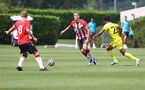 SOUTHAMPTON, ENGLAND - JULY 24: Oriol Romeu of Southampton during a pre-season friendly match between Southampton FC and Fulham at The Staplewood Campus on July 24, 2021 in Southampton, England. Photo by Matt Watson/Southampton FC via Getty Images