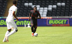 SWANSEA, WALES - JULY 31: Mohammed Salisu of during the pre-season friendly match between Swansea City and Southampton FC, at The Liberty Stadium on July 31, 2021 in Swansea, Wales. (Photo by Matt Watson/Southampton FC via Getty Images)