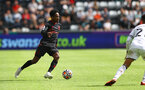 SWANSEA, WALES - JULY 31: Kyle Walker-Peters of Southampton during the pre-season friendly match between Swansea City and Southampton FC, at The Liberty Stadium on July 31, 2021 in Swansea, Wales. (Photo by Matt Watson/Southampton FC via Getty Images)
