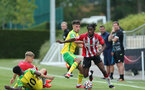 Kegs Chauke. Southampton B v Norwich City U23, Premier League 2, Division 2, Staplewood Campus, Marchwood, Southampton Picture: Chris Moorhouse  Sunday 15th August 2021