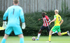 Dynel Simeu. Southampton B v Norwich City U23, Premier League 2, Division 2, Staplewood Campus, Marchwood, Southampton Picture: Chris Moorhouse  Sunday 15th August 2021