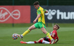 Lewis Payne. Southampton B v Norwich City U23, Premier League 2, Division 2, Staplewood Campus, Marchwood, Southampton Picture: Chris Moorhouse  Sunday 15th August 2021