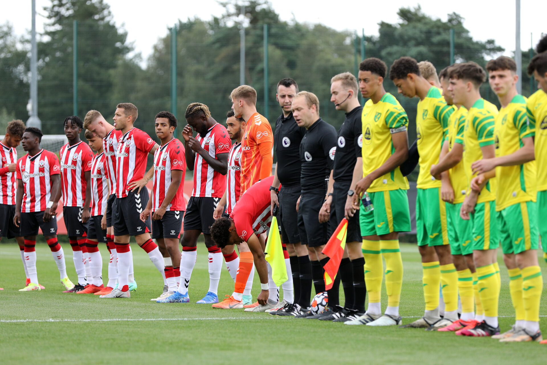 Southampton B v Norwich City U23, Premier League 2, Division 2, Staplewood Campus, Marchwood, Southampton Picture: Chris Moorhouse  Sunday 15th August 2021
