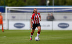 SOUTHAMPTON, ENGLAND - AUGUST 15: Leeta Rutherford of Southampton during the FA Women's National League Southern Premier match between Southampton Women's and MK Dons Ladies at Snow's Stadium on August 15, 2021 in Southampton, England. (Photo by Isabelle Field/Southampton FC via Getty Images)