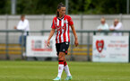 SOUTHAMPTON, ENGLAND - AUGUST 15: Laura Rafferty of Southampton during the FA Women's National League Southern Premier match between Southampton Women's and MK Dons Ladies at Snow's Stadium on August 15, 2021 in Southampton, England. (Photo by Isabelle Field/Southampton FC via Getty Images)