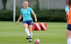 SOUTHAMPTON, ENGLAND - AUGUST 17: Catilin Morris during Southampton Women's training session at  Staplewood Training Ground on August 17, 2021 in Southampton, England. (Photo by Isabelle Field/Southampton FC via Getty Images)