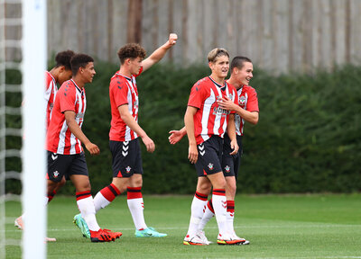 Saints youngsters maintain perfect start at West Ham
