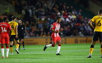 NEWPORT, WALES - AUGUST 25: Theo Walcott of Southampton during the Carabao Cup second round match between Newport County and Southampton FC, at Rodney Parade on August 25, 2021 in Newport, Wales. (Photo by Matt Watson/Southampton FC via Getty Images)