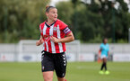 SOUTHAMPTON, ENGLAND - AUGUST 29: Shannon Sievwright of Southampton during Women's National League Southern Premier match between Southampton Women and Gillingham at Snows Stadium on August 29, 2021 in Southampton, England. (Photo by Isabelle Field/Southampton FC via Getty Images)