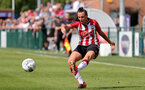 SOUTHAMPTON, ENGLAND - AUGUST 29: Leeta Rutherford of Southampton during Women's National League Southern Premier match between Southampton Women and Gillingham at Snows Stadium on August 29, 2021 in Southampton, England. (Photo by Isabelle Field/Southampton FC via Getty Images)