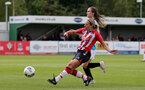 SOUTHAMPTON, ENGLAND - AUGUST 29: Shelly Provan of Southampton during Women's National League Southern Premier match between Southampton Women and Gillingham at Snows Stadium on August 29, 2021 in Southampton, England. (Photo by Isabelle Field/Southampton FC via Getty Images)