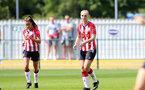 SOUTHAMPTON, ENGLAND - AUGUST 29: Rosie Parnell of Southampton during Women's National League Southern Premier match between Southampton Women and Gillingham at Snows Stadium on August 29, 2021 in Southampton, England. (Photo by Isabelle Field/Southampton FC via Getty Images)