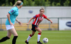 SOUTHAMPTON, ENGLAND - AUGUST 29: Sophia Pharoah of Southampton during Women's National League Southern Premier match between Southampton Women and Gillingham at Snows Stadium on August 29, 2021 in Southampton, England. (Photo by Isabelle Field/Southampton FC via Getty Images)