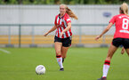 SOUTHAMPTON, ENGLAND - AUGUST 29: Catilin Morris of Southampton during Women's National League Southern Premier match between Southampton Women and Gillingham at Snows Stadium on August 29, 2021 in Southampton, England. (Photo by Isabelle Field/Southampton FC via Getty Images)