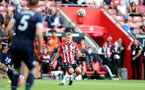 SOUTHAMPTON, ENGLAND - SEPTEMBER 11: James Ward-Prowse of Southampton during the Premier League match between Southampton  and  West Ham United at St Mary's Stadium on September 11, 2021 in Southampton, England. (Photo by Isabelle Field/Southampton FC via Getty Images)