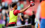 SOUTHAMPTON, ENGLAND - SEPTEMBER 11: Che Adams of Southampton during the Premier League match between Southampton  and  West Ham United at St Mary's Stadium on September 11, 2021 in Southampton, England. (Photo by Isabelle Field/Southampton FC via Getty Images)