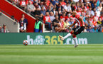 SOUTHAMPTON, ENGLAND - SEPTEMBER 11: Nathan Redmond of Southampton during the Premier League match between Southampton  and  West Ham United at St Mary's Stadium on September 11, 2021 in Southampton, England. (Photo by Matt Watson/Southampton FC via Getty Images)