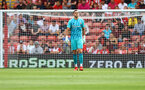SOUTHAMPTON, ENGLAND - SEPTEMBER 11: Alex McCarthy of Southampton during the Premier League match between Southampton  and  West Ham United at St Mary's Stadium on September 11, 2021 in Southampton, England. (Photo by Matt Watson/Southampton FC via Getty Images)