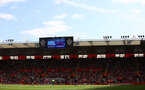 SOUTHAMPTON, ENGLAND - SEPTEMBER 11: A general view during the Premier League match between Southampton  and  West Ham United at St Mary's Stadium on September 11, 2021 in Southampton, England. (Photo by Matt Watson/Southampton FC via Getty Images)