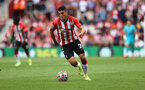 SOUTHAMPTON, ENGLAND - SEPTEMBER 11: Mohamed Elyounoussi of Southampton during the Premier League match between Southampton  and  West Ham United at St Mary's Stadium on September 11, 2021 in Southampton, England. (Photo by Matt Watson/Southampton FC via Getty Images)