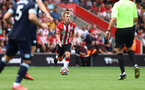 SOUTHAMPTON, ENGLAND - SEPTEMBER 11: James Ward-Prowse of during the Premier League match between Southampton  and  West Ham United at St Mary's Stadium on September 11, 2021 in Southampton, England. (Photo by Matt Watson/Southampton FC via Getty Images)