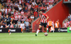 SOUTHAMPTON, ENGLAND - SEPTEMBER 11: Armando Broja of Southampton during the Premier League match between Southampton  and  West Ham United at St Mary's Stadium on September 11, 2021 in Southampton, England. (Photo by Matt Watson/Southampton FC via Getty Images)