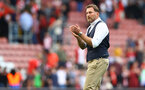 SOUTHAMPTON, ENGLAND - SEPTEMBER 11: Southampton manager Ralph Hasenhüttl during the Premier League match between Southampton  and  West Ham United at St Mary's Stadium on September 11, 2021 in Southampton, England. (Photo by Matt Watson/Southampton FC via Getty Images)