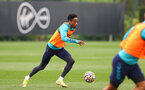SOUTHAMPTON, ENGLAND - SEPTEMBER 14: Kyle Walker-Peters during a Southampton FC training session at the Staplewood Campus on September 14, 2021 in Southampton, England. (Photo by Matt Watson/Southampton FC via Getty Images)