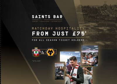 Upgrade to hospitality for Wolves