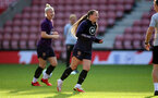 SOUTHAMPTON, ENGLAND - SEPTEMBER 16: Fran Kirby during England Women's training session at St Mary's Stadium on September 16, 2021 in Southampton, England. (Photo by Isabelle Field/Southampton FC via Getty Images)