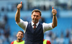 MANCHESTER, ENGLAND - SEPTEMBER 18: Southampton manager Ralph Hasenhüttl during the Premier League match between Manchester City and Southampton at Etihad Stadium on September 18, 2021 in Manchester, England. (Photo by Matt Watson/Southampton FC via Getty Images)