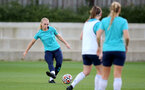 SOUTHAMPTON, ENGLAND - SEPTEMBER 22: Rosie Parnell during Southampton Women's training at Staplewood Training Ground on September 22, 2021 in Southampton, England. (Photo by Isabelle Field/Southampton FC via Getty Images)