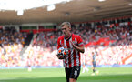 SOUTHAMPTON, ENGLAND - SEPTEMBER 26: James Ward-Prowse during the Premier League match between Southampton and Wolverhampton Wanderers at St Mary's Stadium on September 26, 2021, in Southampton, England. (Photo by Chris Moorhouse/Southampton FC via Getty Images)