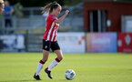 CHELTENHAM, ENGLAND - SEPTEMBER 26: Sophia Pharoah of Southampton during the FA National League Southern Premier match between   Southampton Women and London Bees at The Snows Stadium on September 26, 2021 in  Cheltenham, England. (Photo by Isabelle Field/Southampton FC via Getty Images)