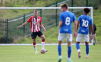 BIRMINGHAM, ENGLAND - SEPTEMBER 27: Olly Lancashire of Southampton during the Premier League 2 match between Birmingham City and Southampton B Team at Wast Hills Training Ground on September 27, 2021 in Birmingham , England. (Photo by Isabelle Field/Southampton FC via Getty Images)