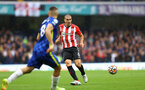 LONDON, ENGLAND - OCTOBER 02: Oriol Romeu of Southampton during the Premier League match between Chelsea and Southampton at Stamford Bridge on October 02, 2021 in London, England. (Photo by Matt Watson/Southampton FC via Getty Images)