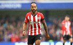 LONDON, ENGLAND - OCTOBER 02: Theo Walcott of Southampton during the Premier League match between Chelsea and Southampton at Stamford Bridge on October 02, 2021 in London, England. (Photo by Matt Watson/Southampton FC via Getty Images)