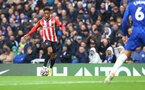LONDON, ENGLAND - OCTOBER 02: Kyle Walker-Peters of Southampton during the Premier League match between Chelsea and Southampton at Stamford Bridge on October 02, 2021 in London, England. (Photo by Matt Watson/Southampton FC via Getty Images)