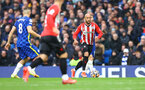 LONDON, ENGLAND - OCTOBER 02: Nathan Redmond of Southampton during the Premier League match between Chelsea and Southampton at Stamford Bridge on October 02, 2021 in London, England. (Photo by Matt Watson/Southampton FC via Getty Images)