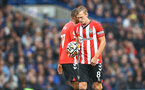 LONDON, ENGLAND - OCTOBER 02: James Ward-Prowse of Southampton during the Premier League match between Chelsea and Southampton at Stamford Bridge on October 02, 2021 in London, England. (Photo by Matt Watson/Southampton FC via Getty Images)