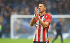 LONDON, ENGLAND - OCTOBER 02: Jan Bednarek of Southampton during the Premier League match between Chelsea and Southampton at Stamford Bridge on October 02, 2021 in London, England. (Photo by Matt Watson/Southampton FC via Getty Images)