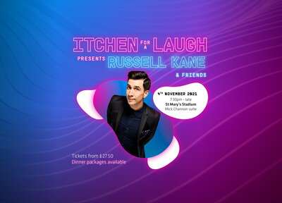 Don't miss Russell Kane at St Mary's