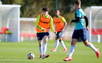 SOUTHAMPTON, ENGLAND - OCTOBER 11: Rylee Wright during Southampton U18s training session at Staplewood Training Ground on October 12, 2021 in Southampton, England. (Photo by Isabelle Field/Southampton FC via Getty Images)