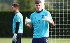 SOUTHAMPTON, ENGLAND - OCTOBER 13: Fraser Forster during a Southampton FC training session at the Staplewood Campus on October 13, 2021 in Southampton, England. (Photo by Matt Watson/Southampton FC via Getty Images)